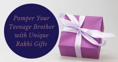 Pamper Your Teenage Brother with Unique Rakhi Gifts
